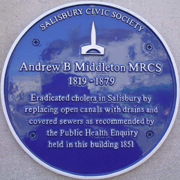 Dr Andrew Middleton (1819 – 1879)