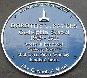 Dorothy L Sayers (1893 – 1957)