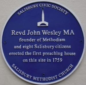 Revd John Wesley (1703 – 1791)