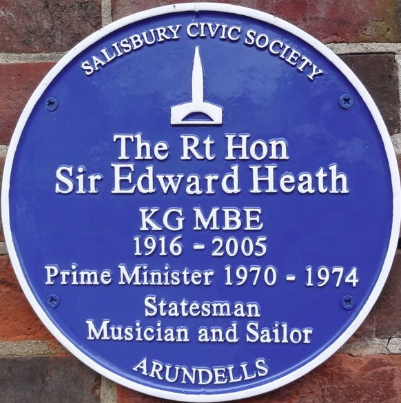 Sir Edward Heath (1916 – 2005)